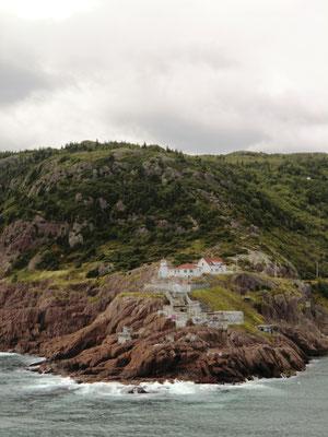 Einlaufen in St. John's