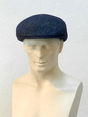 Flatcap in einem Guss aus Paperstroh