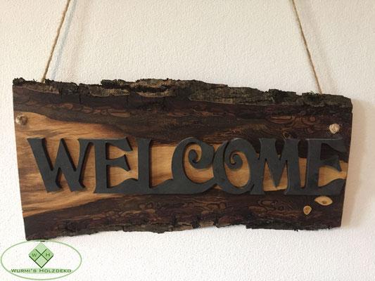 Welcome Aufhänger