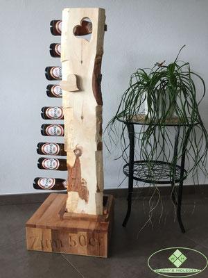50er Geburtstagsgeschenk aus Holz