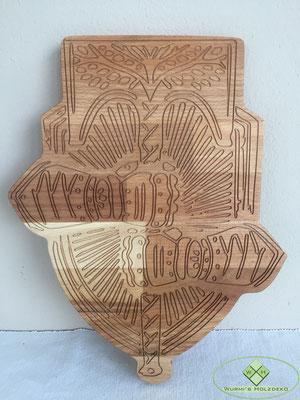 Logo aus Holz