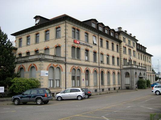 Güterbahnhof Kopfbau