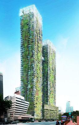 Kuala Lumpur, Le Nouvel Towers