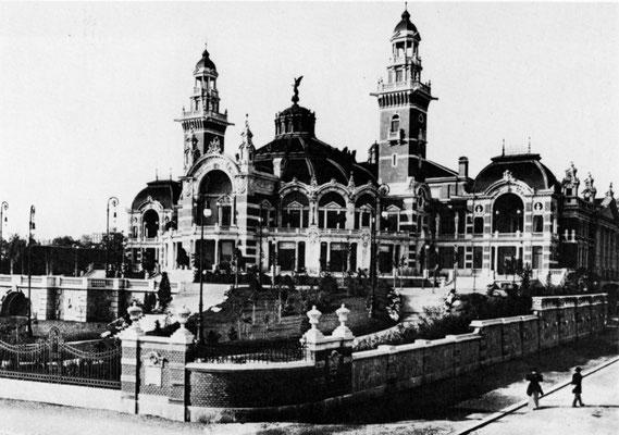 Tonhalle um 1900