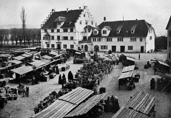 Altes Stadthaus im Kratzquartier