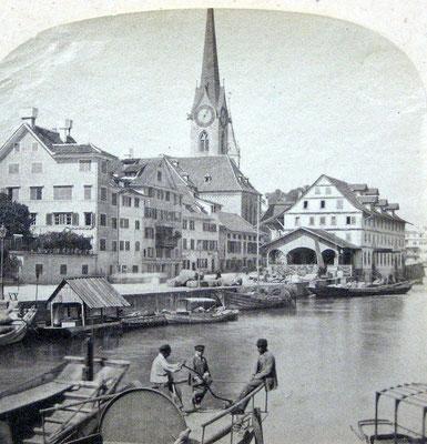 Kratzquartier um 1880