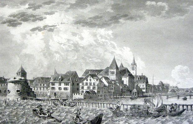 Kratzquartier im 16. Jahrhundert