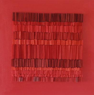 Encuentro. Técnica mixta/lienzo. 40x40cms. 2013