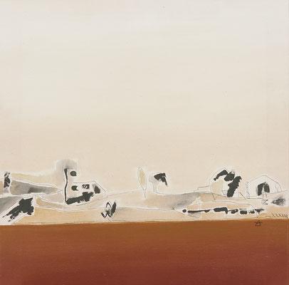 Serie Mediterránea 55x55 cms. Acrílico sobre lienzo. 2003