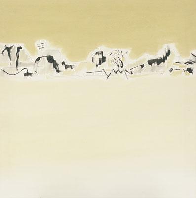 Serie Mediterránea 73x73 cms. Acrílico sobre lienzo. 2003