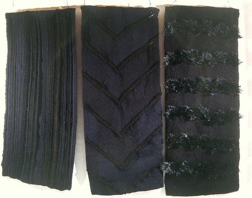 Negro sobre negro, 180x228 cms.