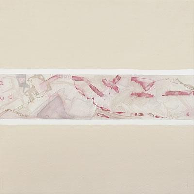 Serie Blanca, 38x38 cms. Acrílico sobre lienzo. 2003