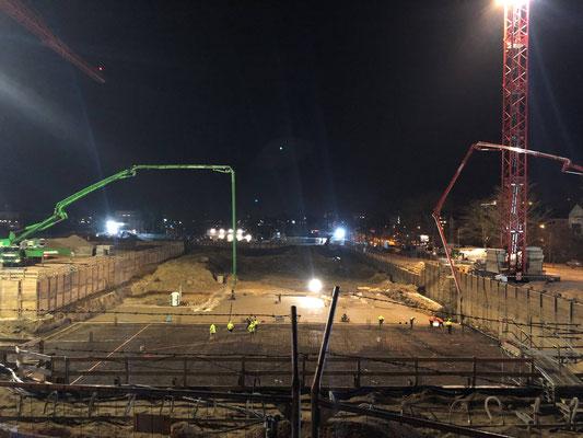 Neues Polizeipräsidium Südosthessen in Offenbach - erste Bilder vom Baubeginn