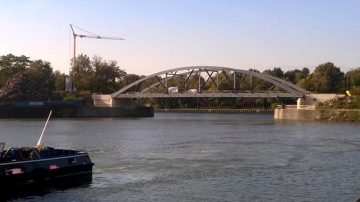 Brücke über den Hafenmund, Gelsenkirchen