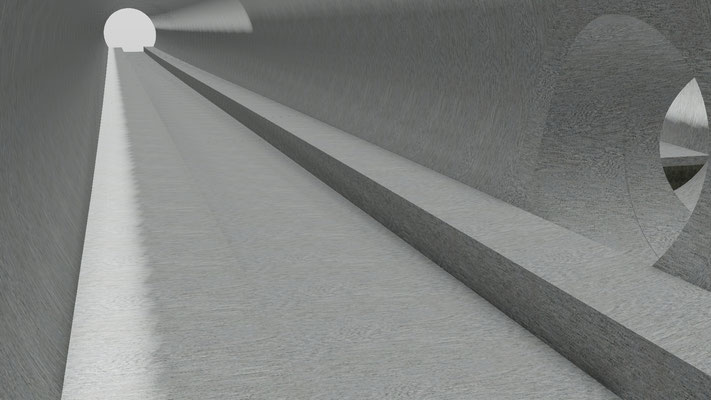 Stuttgart 21 - PFA 1.6a 3D Planung (BIM Projekt) Verbindungsbauwerk 12