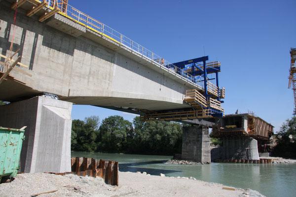 Eisenbahnüberführung Innbrücke Mühldorf / Ehring