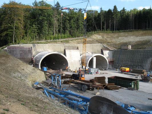 BAB A 4 Eisenach-Görlitz, 6-streifiger Neubau bei Jena, inkl. Tunnel Jagdberg