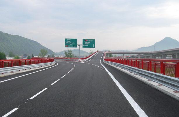 Autobahnneubau D1 in der Slowakei