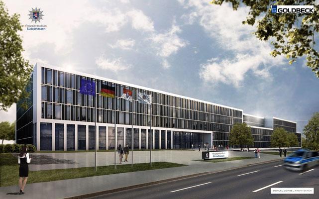 Neues Polizeipräsidium Südosthessen in Offenbach