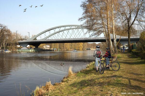 Neubau der Freybrücke in Berlin