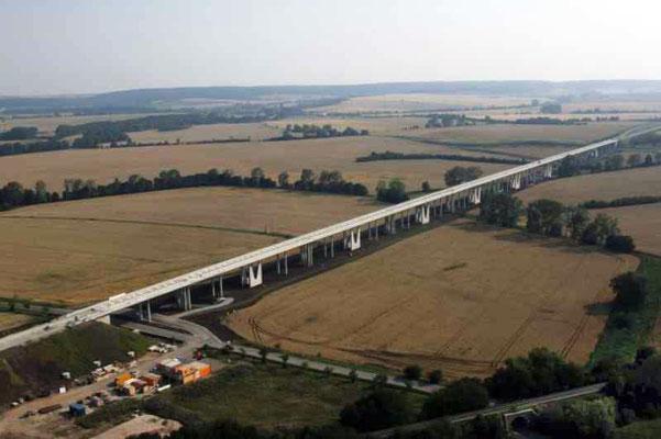 Neubau der Gänsebachtalbrücke, NBS Erfurt-Leipzig/Halle