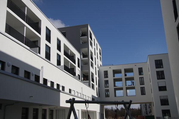 Neubau Bürogebäude mit Nahversorger,Kita und Wohnhaus mit Tiefgarage