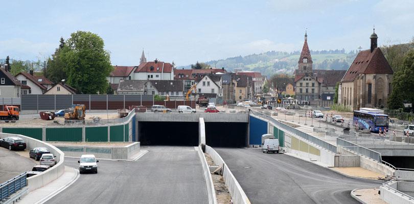 Neubau Straßentunnel Schwäbisch Gmünd Tunnel Schwäbisch Gmünd Ostportal