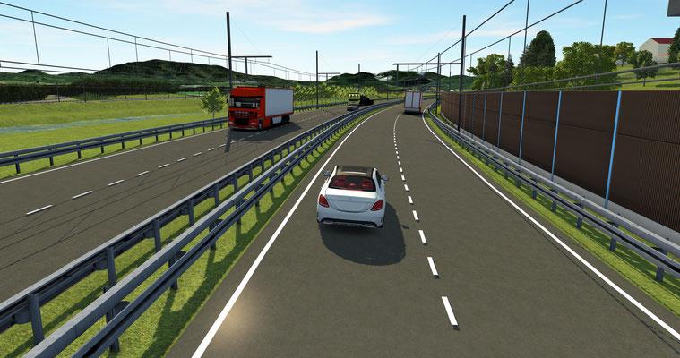 eWayBW ist ein Pilotprojekt zu elektrisch betriebenen Hybrid-Oberleitungs-Lkw