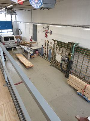 Werkstatt von oben