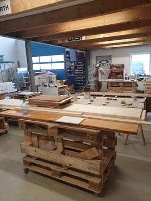 Werkstatt Bereich