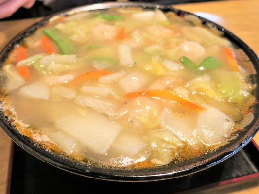 廬山 エビ塩担々麺