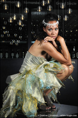 Photo: Emeline Corveleyn  / Stylisme et création: Laurine Masset / Modèle : Alexandra Von-arbourg