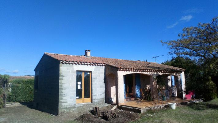 Extension de maison de 24m2