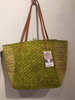 PINEAPPLE TOTE color : lime
