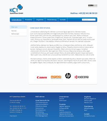 www.kct-leipzig.de | Konzeption und Screendesign by dsirearts | Technische Umsetzung by kemaweb