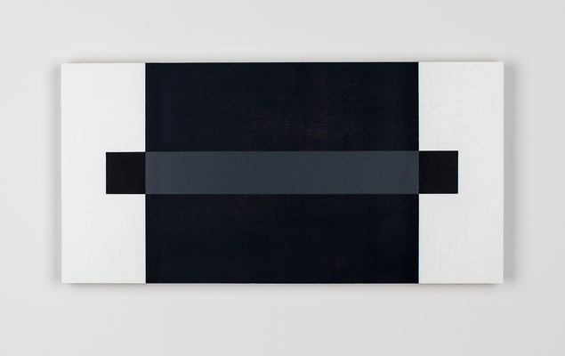 R26-03, Olieverf op berken multiplex 26 x 52 x 3 cm (2021)