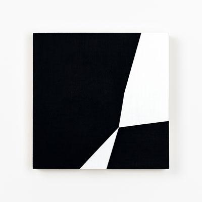 Colonnade #15,  Olieverf op berken multiplex 20x20x3cm (2020)
