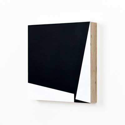 Colonnade #16,  Olieverf op berken multiplex 20x20x3cm (2020)