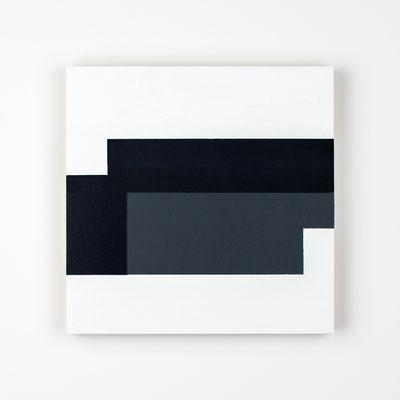 R26-05, Olieverf op berken multiplex 26 x 26 x 3 cm (2021)