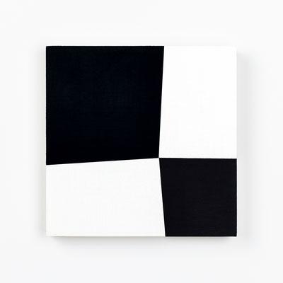 Colonnade #33,  Olieverf op berken multiplex 20x20x3cm (2020)