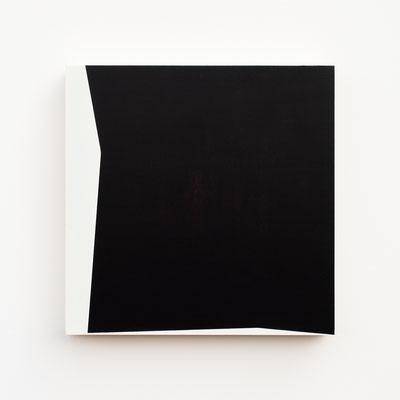 Foundation 01, Olieverf op berken multiplex 26x26x3,6 cm (2019)
