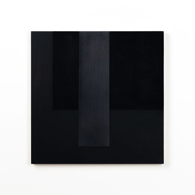 Colonnade #05,  Olieverf op berken multiplex 44x44x3 cm (2020)
