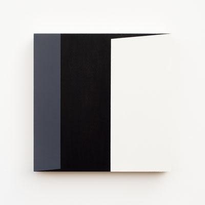 Foundation 06, Olieverf op berken multiplex 26x26x3,6 cm (2019)