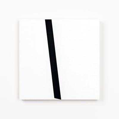 Colonnade #25,  Olieverf op berken multiplex 26x26x3 cm (2020)