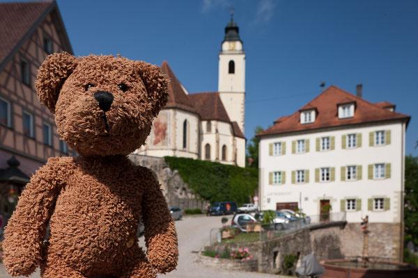 Ich war in Horb am Neckar! da geht es ganz steil den Berg hinauf. Dafür geht es dann aber auch wieder ganz stramm ins Tal hinunter.