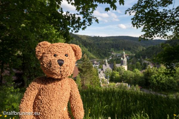 Todtmoos. Hier bin ich am Steppen. Hier steppt nämlich der Bär.