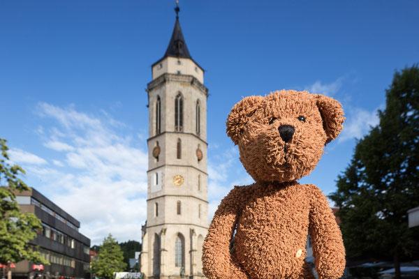 """Und eine meiner Lieblingsstädte im """"Muschderländle"""" ist Balingen bei der Hohenzollernburg."""