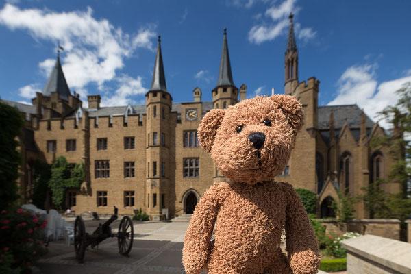 """Eine meiner Lieblingsburgen im """"Muschderländle"""" ist die der Hohenzollern  bei Balingen"""