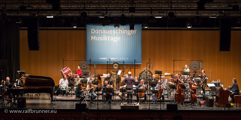 Donaueschinger Musiktage 2016: Steamboat Switzerland mit dem Klangforum Wien