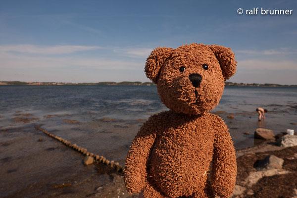 Urlaubsgrüße aus Holnis an der Ostsee, ganz in der Nähe von Glücksburg!